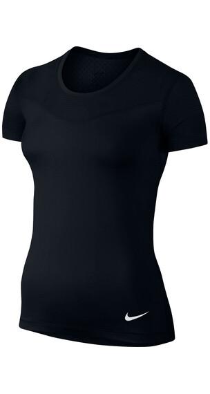 Nike Pro Hypercool SS Shirt Women black/white